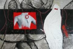 """""""Voldel"""" Huile sur Toile 116x162 cm"""